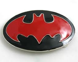 Batman red - belt buckle