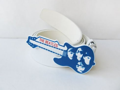 Beatles guitar - buckle