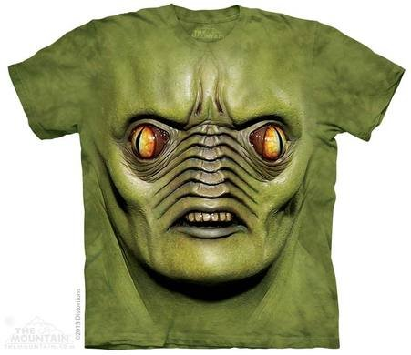Mountain T-shirt - mostro verde