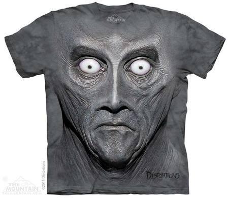 3D-Motiv Gesicht - Alien