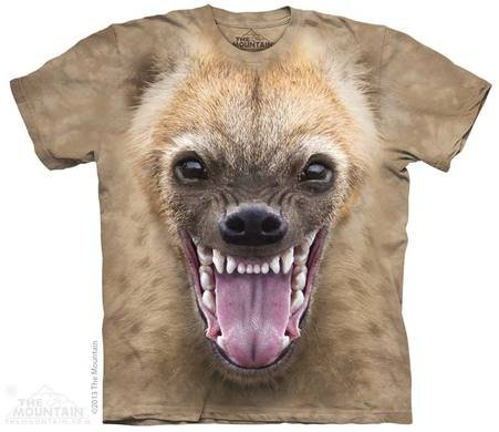Mountain T-shirt 3D - Hyena