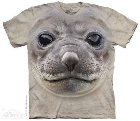 Mountain T-shirt 3D - Seal