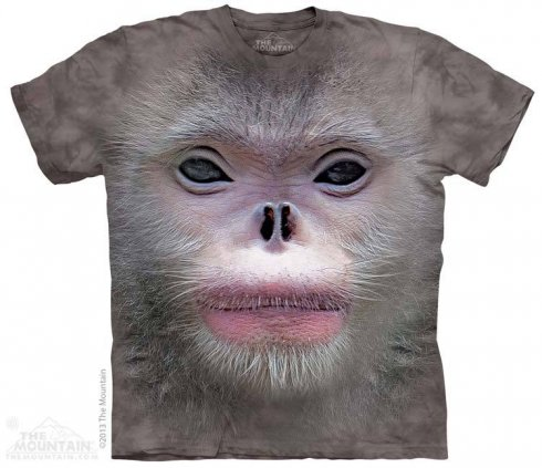 3D hi-tech shirt - Monkey