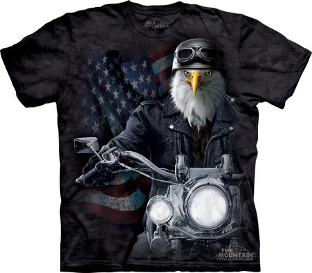 Eco T-shirt - Eagle Biker