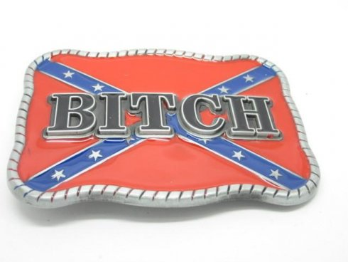 Bitch - belt buckle