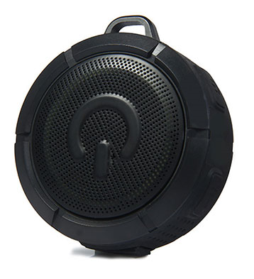 Portable speakers with Bluetooth Waterproof - Black