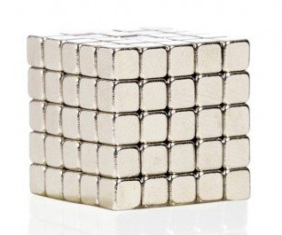 Magnetic cubes - silver