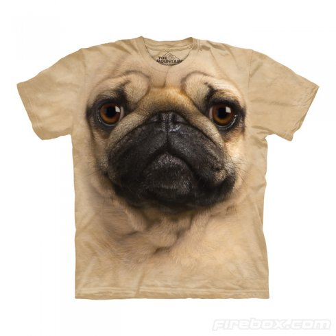 Hi-tech T-shirt - Mops motivo