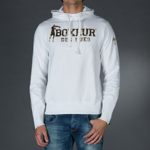 Sweatshirt Fighter Brand - White