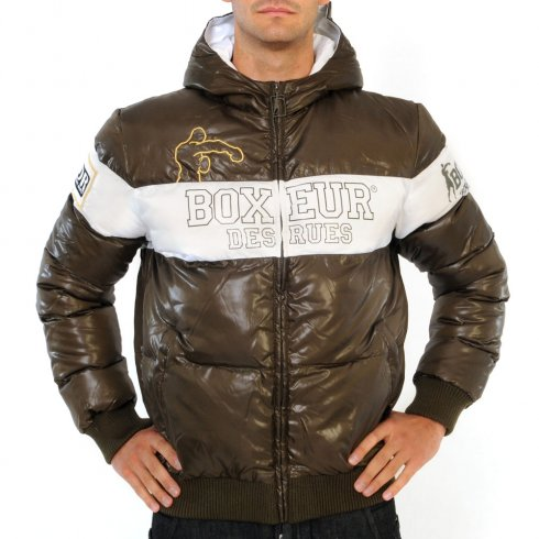 Jacket Fighter Brand - brown