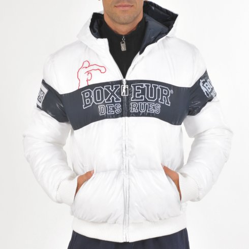 Jacket Fighter Brand  - white