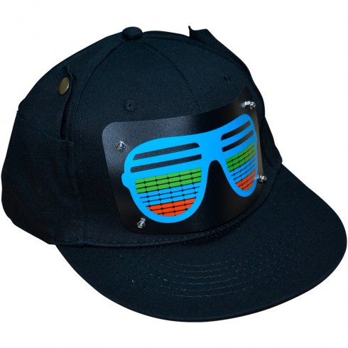 Gorras - LED intermitente sensible al sonido - MIRAR