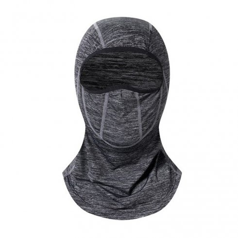 Balaclava for face protection (face mask) - grey colour