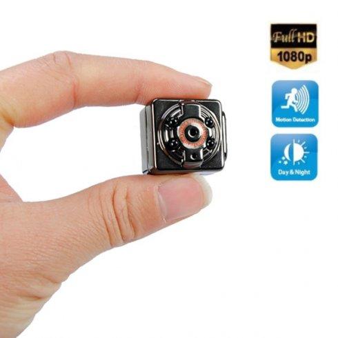 Камера Micro FULL HD з функцією виявлення руху та 4 світлодіодних інфрачервоних світлодіодів