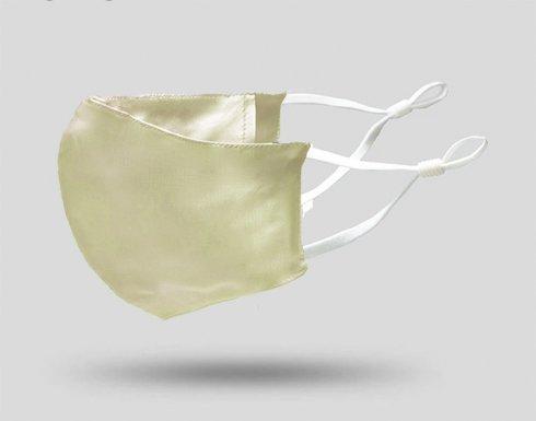 Exkluzívne rúška100%Luxusné prevedenie - Krémová farba