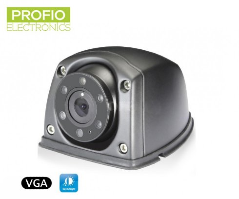 VGA reversing camera with 6 IR night vision 5m + 150˚  angle of view
