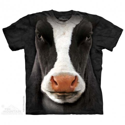 Animal face t-shirt - Cow