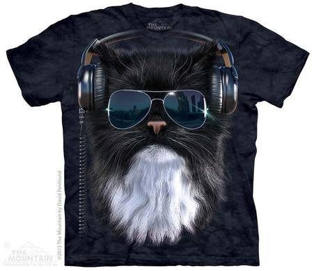 Batik shirt - Szalony kot