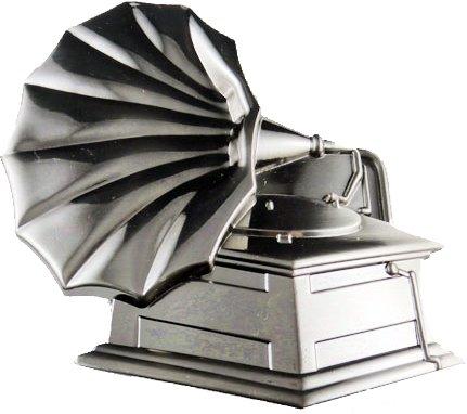 Grammophone - Schnalle