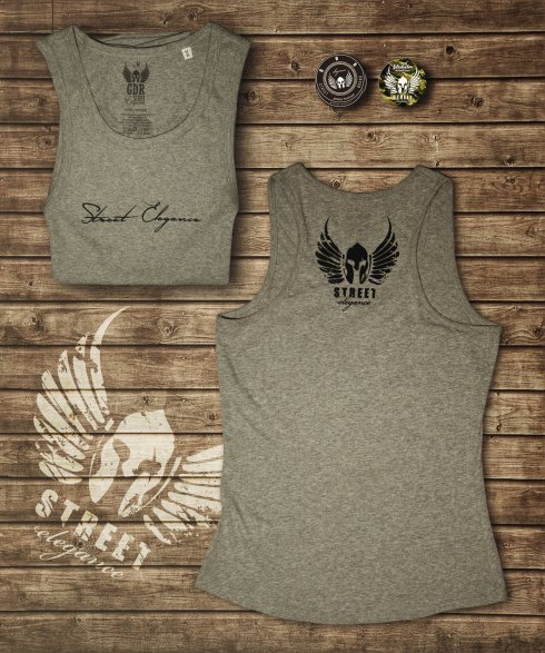 Women GDR singlet - Grey