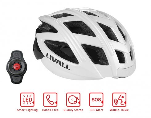 自転車用ヘルメットSmart - Livall BH60SE