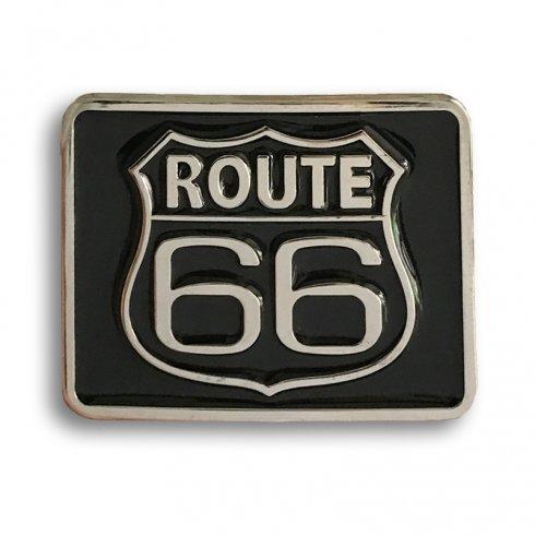 ROUTE 66 - Hebilla de cinturón fresca