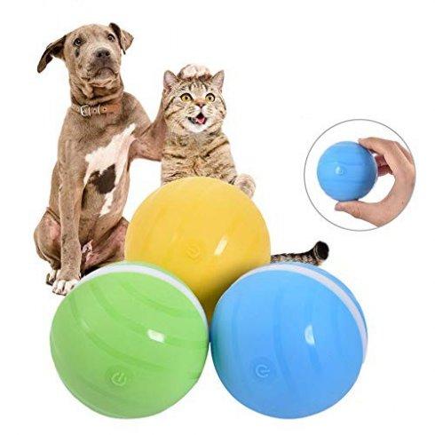 Розумний м'яч для веселих собак та котів - Автоматичний (3 рівня активності)