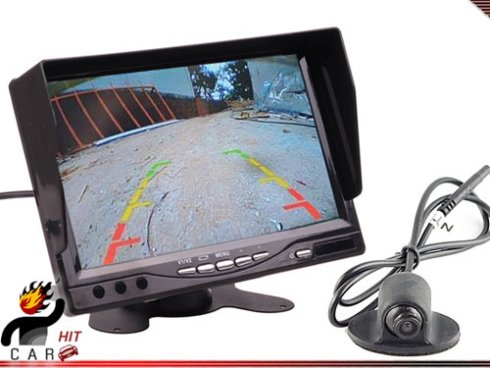 "Revertir monitor de 7"" + parking cámara"