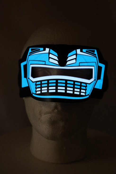 Rave mask ULTIMO - sound sensitive