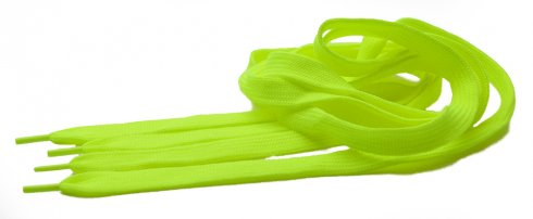 Neon laces - lime green