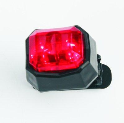 Světlo na kolo výstražné - Červené LED