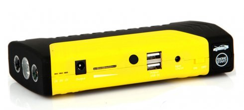 Portable car battery jumper + external battery 50800mAh with LED light