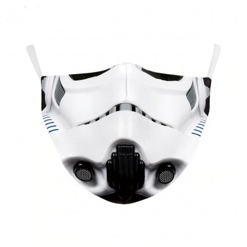STORMTROOPER protective face mask - 100% polyester