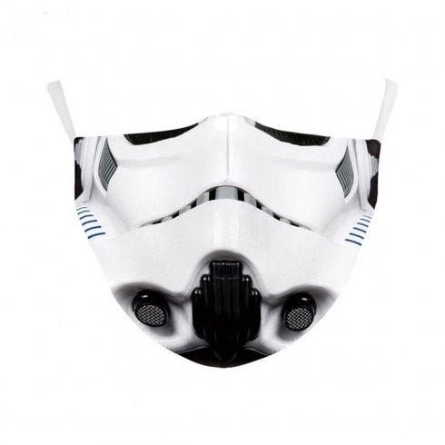 STORMTROOPER maska (rúško) na tvár- 100% polyester