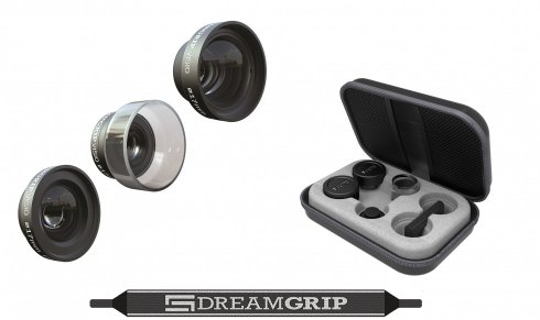 Set of 3 professional lens DreamGrip VISIO PRO