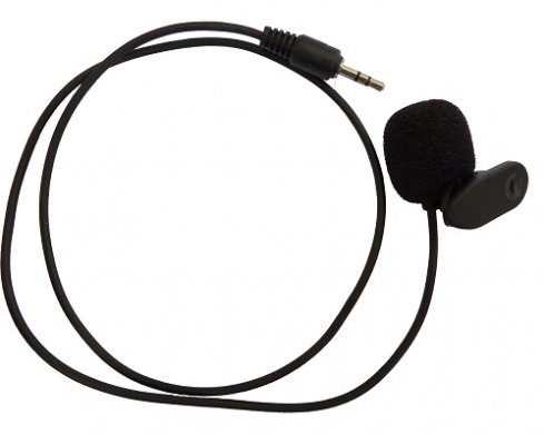 External microphone for spy earpiece