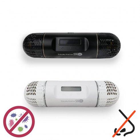 UV sterilizatordo topánok či inú obuv (sterilizácia)+sušič topánok s LCD displejom