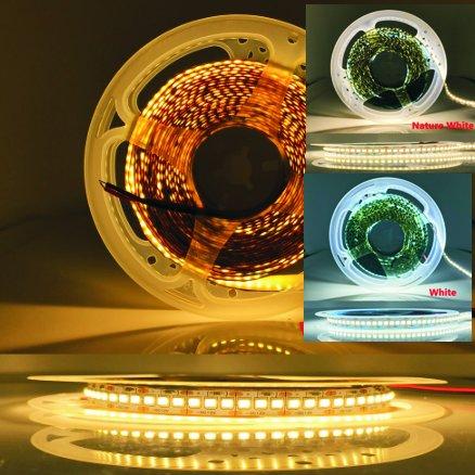 LED svjetlosna traka 5M CCT s podesivom temperaturom bijelog svjetla 2700-6500K