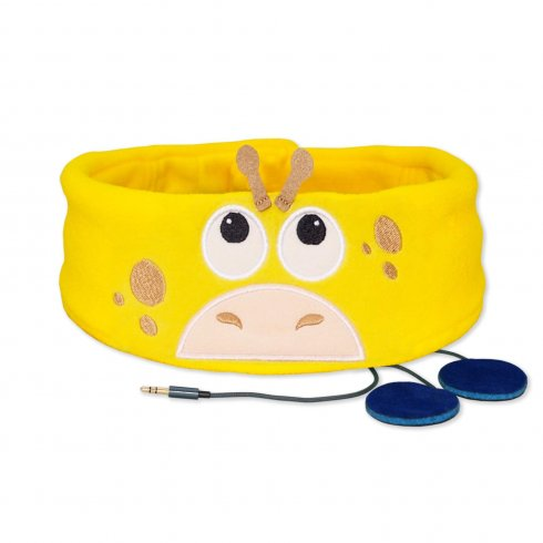 Funny kids headband with headphones - Giraffe