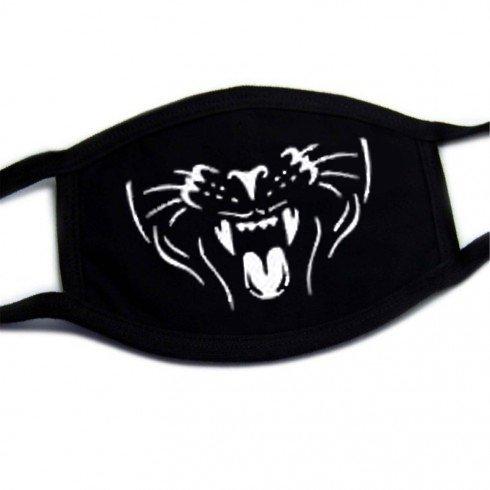 Color cotton face mask - pattern Tiger