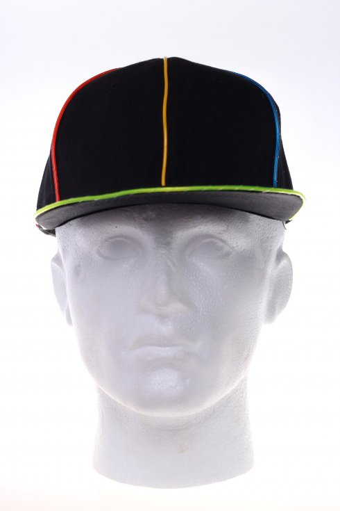 Shining cap - led multicolor
