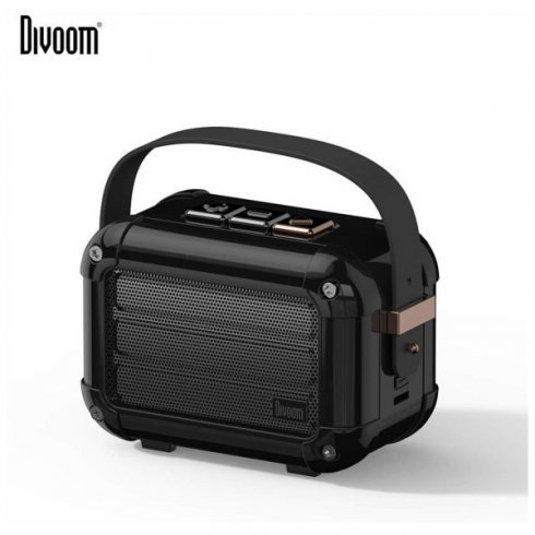 Divoom Macchiato - portable retro speaker 6W with Bluetooth 5.0