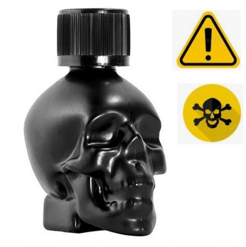 Poppers - BLACK SKULL (ULTRA HARD) - 24ml