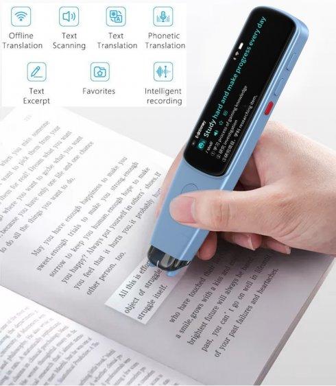 Traductor bolígrafo de texto escaneado Dosmono C503 - bolígrafo traductor wifi - traductor de voz + reproductor mp3