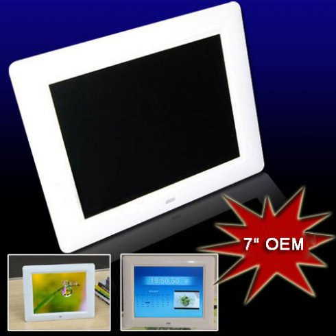 "Digital Photo Frame 7 ""OEM"