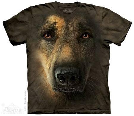 Гірська футболка - німецька вівчарка