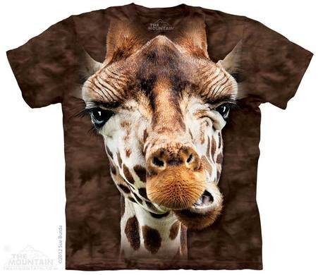 3D animal shirt - Giraffe