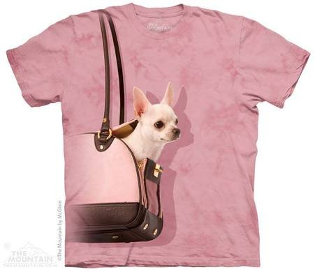 Mountain T-shirt 3D - Chihuahua handbag
