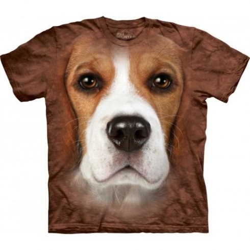 Animal twarz t-shirt - Beagle