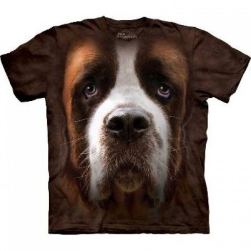 Animal face t-shirt - Bernardin